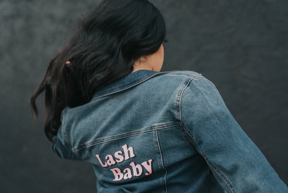 Load image into Gallery viewer, Lash Baby Denim Jacket (4309149155390)