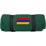 Armenian Flag Port & Co. Fleece Blanket - shopdiasporina.com