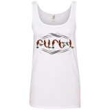 'Barev' Ladies' 100% Ringspun Cotton Tank Top - shopdiasporina.com