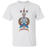 Double Peacock Crest - Youth Ultra Cotton T-Shirt - shopdiasporina.com