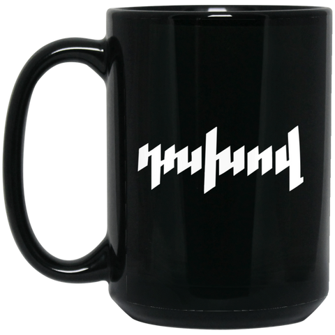 'Dukhov' 15 oz. Black Mug