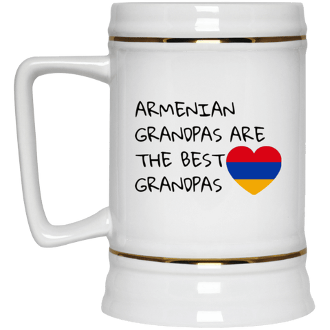 'Best Grandpas' Beer Stein 22oz. - shopdiasporina.com