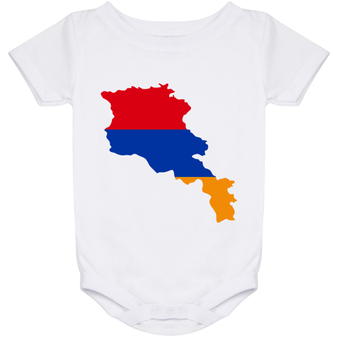 Armenia Outline  Onesie 24 Month - shopdiasporina.com