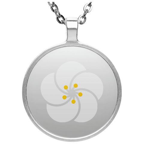 Armenian Apricot Blossom Circle Necklace - shopdiasporina.com