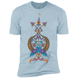 'Double Peacock Crest' Premium Short Sleeve T-Shirt - shopdiasporina.com