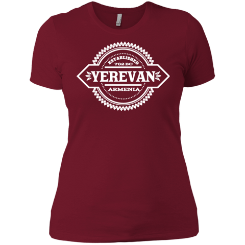 'Yerevan' Ladies' Boyfriend T-Shirt - shopdiasporina.com
