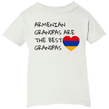 'Best Grandpas' Rabbit Skins Infant 5.5 oz Short Sleeve T-Shirt - shopdiasporina.com