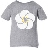 Armenian Apricot Blossom -  Rabbit Skins Infant 5.5 oz Short Sleeve T-Shirt - shopdiasporina.com