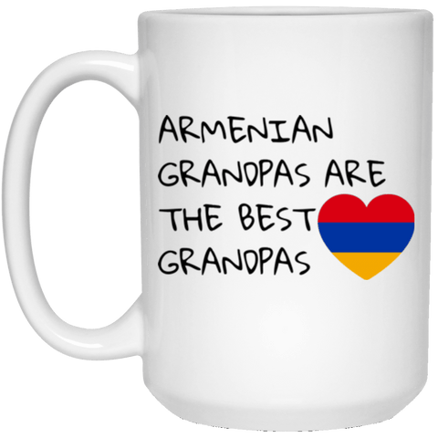 'Best Grandpas' 15 oz. White Mug - shopdiasporina.com