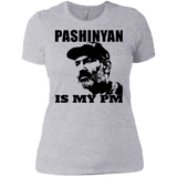 'PASHINYAN IS MY PM' Premium Ladies' Boyfriend T-Shirt - shopdiasporina.com