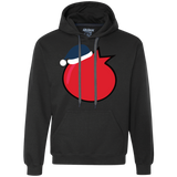 Holiday Pomegranate Heavyweight Pullover Fleece Sweatshirt