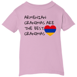'Best Grandmas' Rabbit Skins Infant 5.5 oz Short Sleeve T-Shirt - shopdiasporina.com