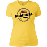 'Armenia 2492' Ladies' Boyfriend T-Shirt - shopdiasporina.com