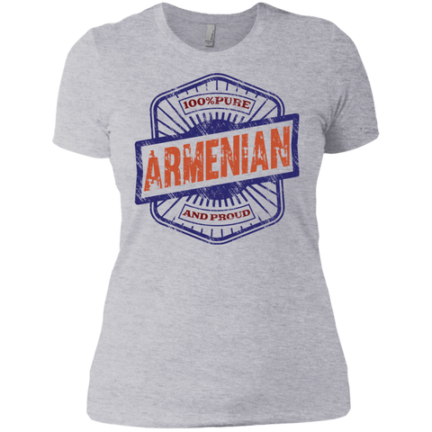 '100% Armenian' Ladies' Boyfriend T-Shirt - shopdiasporina.com