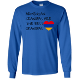 'Best Grandpas' Gildan LS Ultra Cotton T-Shirt - shopdiasporina.com