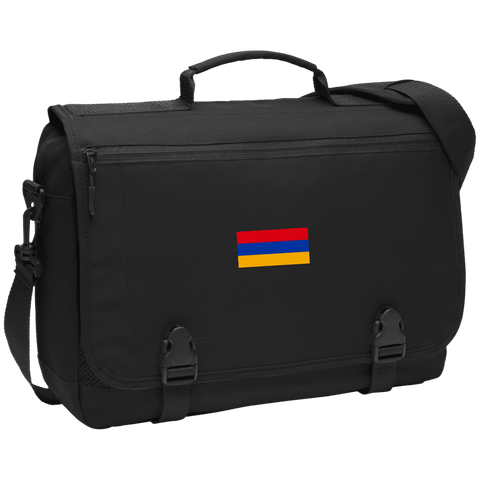 Armenian Flag Port Authority Messenger Briefcase - shopdiasporina.com