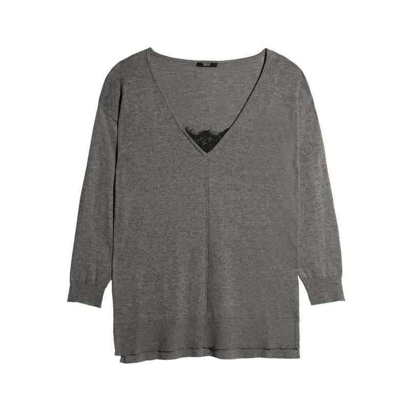 Loose / Low Neck Sweater - The HiO Life