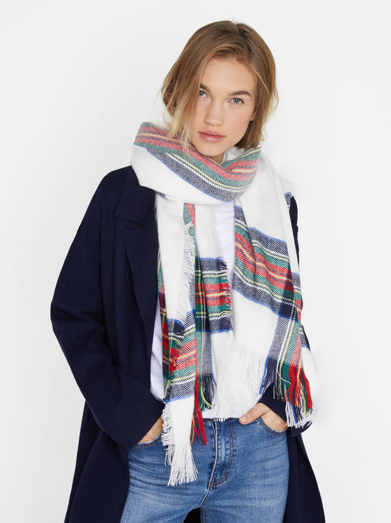 Checks Blanket Scarf