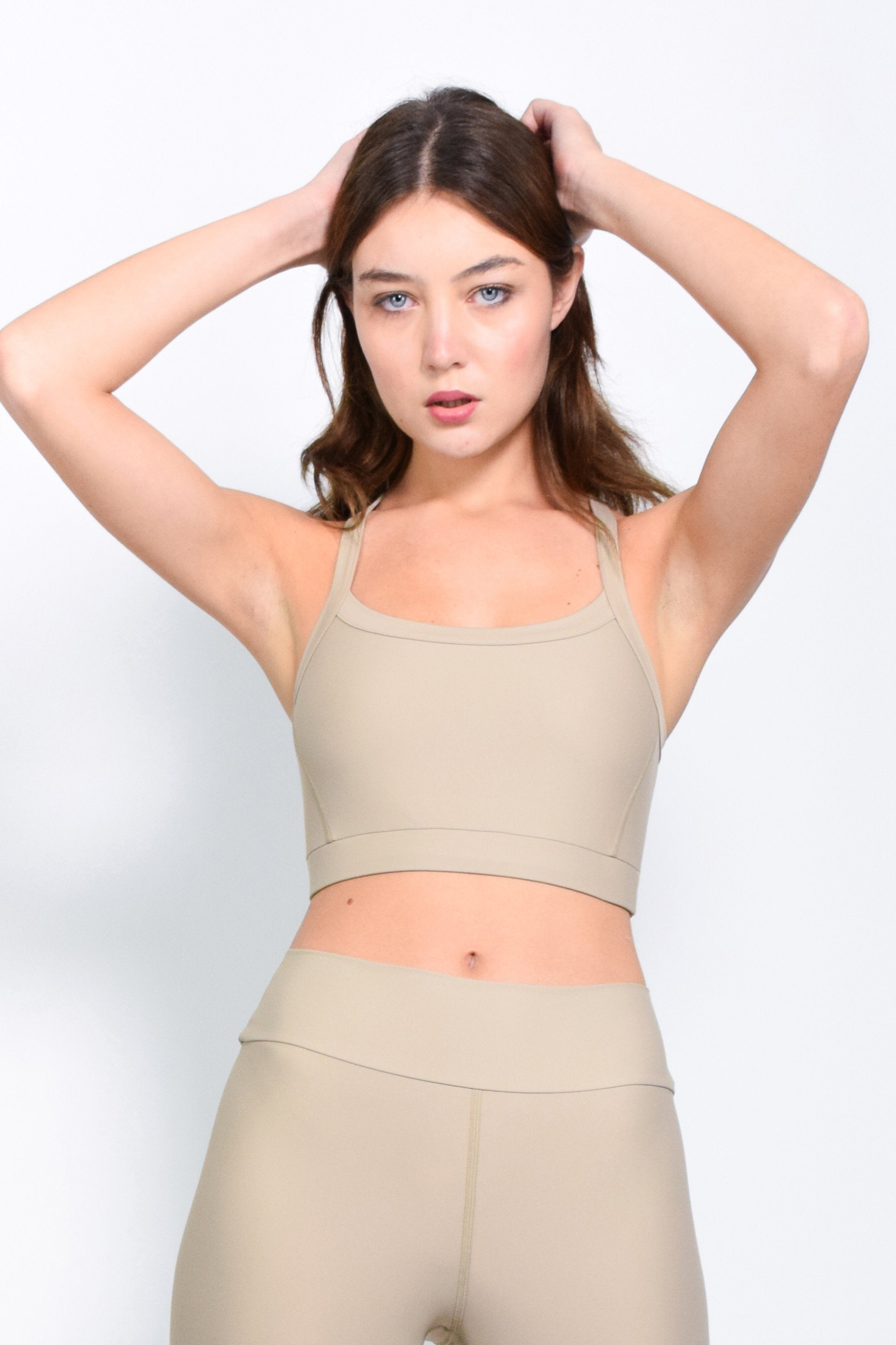 Beige basic bra - The HiO Life