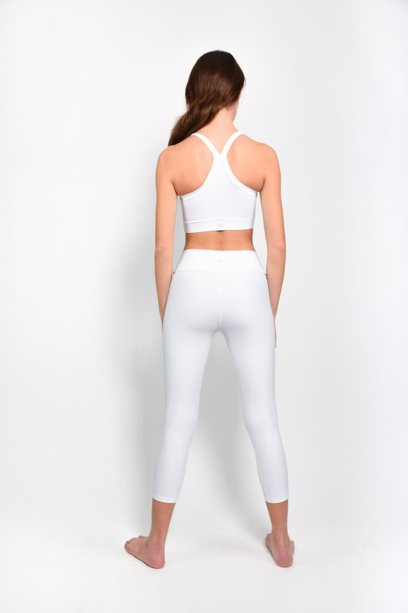 White basic leggings - The HiO Life