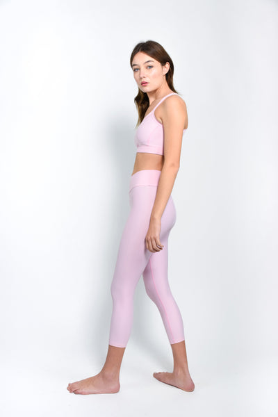 Petal pink basic leggings - The HiO Life