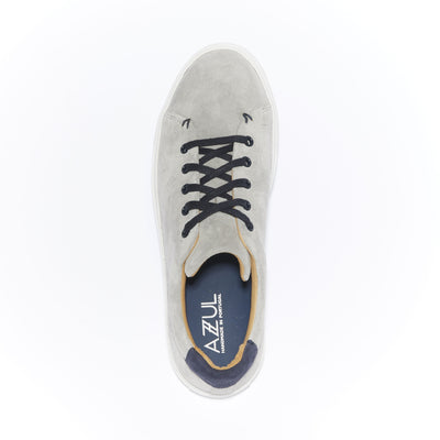 Men's Braga Sneaker in Grey Suede - The HiO Life