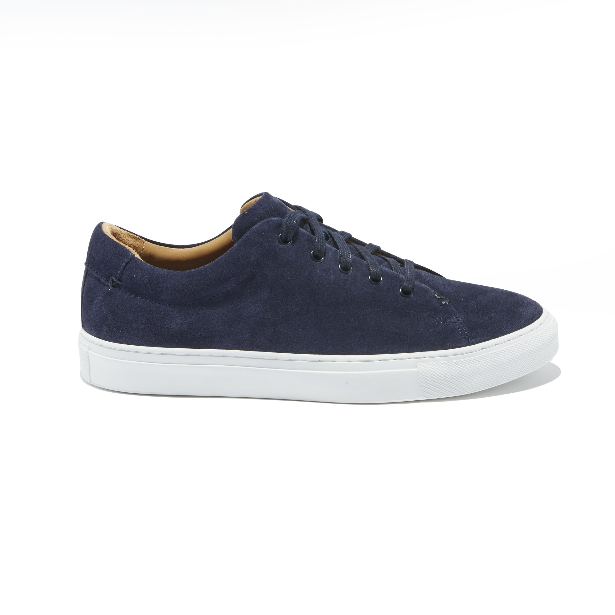 Men's Braga Sneaker in Navy Suede - The HiO Life