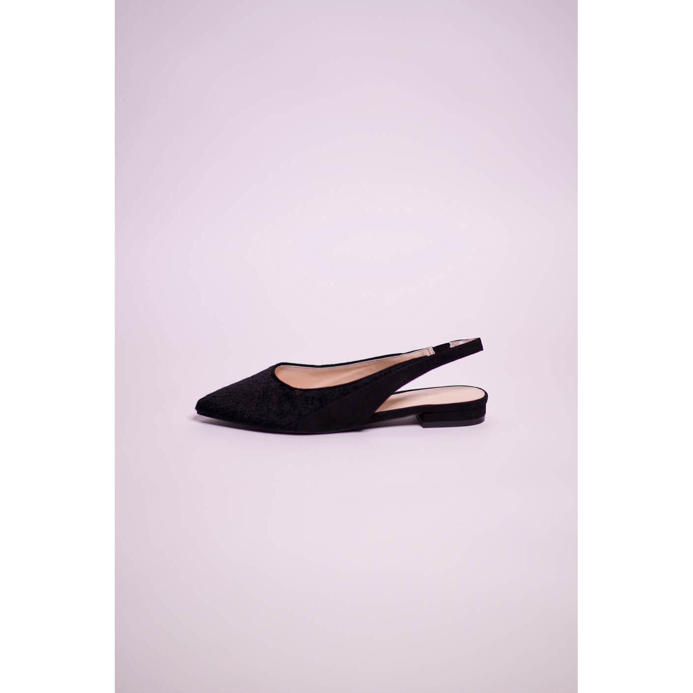 Parfois Black Sling Back Flats - The HiO Life