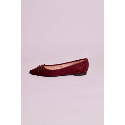 Parfois Shoes with bow- Burgundy - The HiO Life