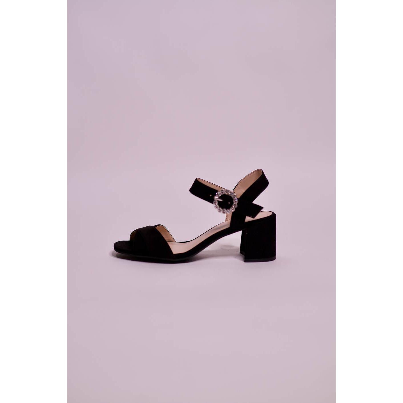 Parfois Fashion Buckle High Sandal - The HiO Life
