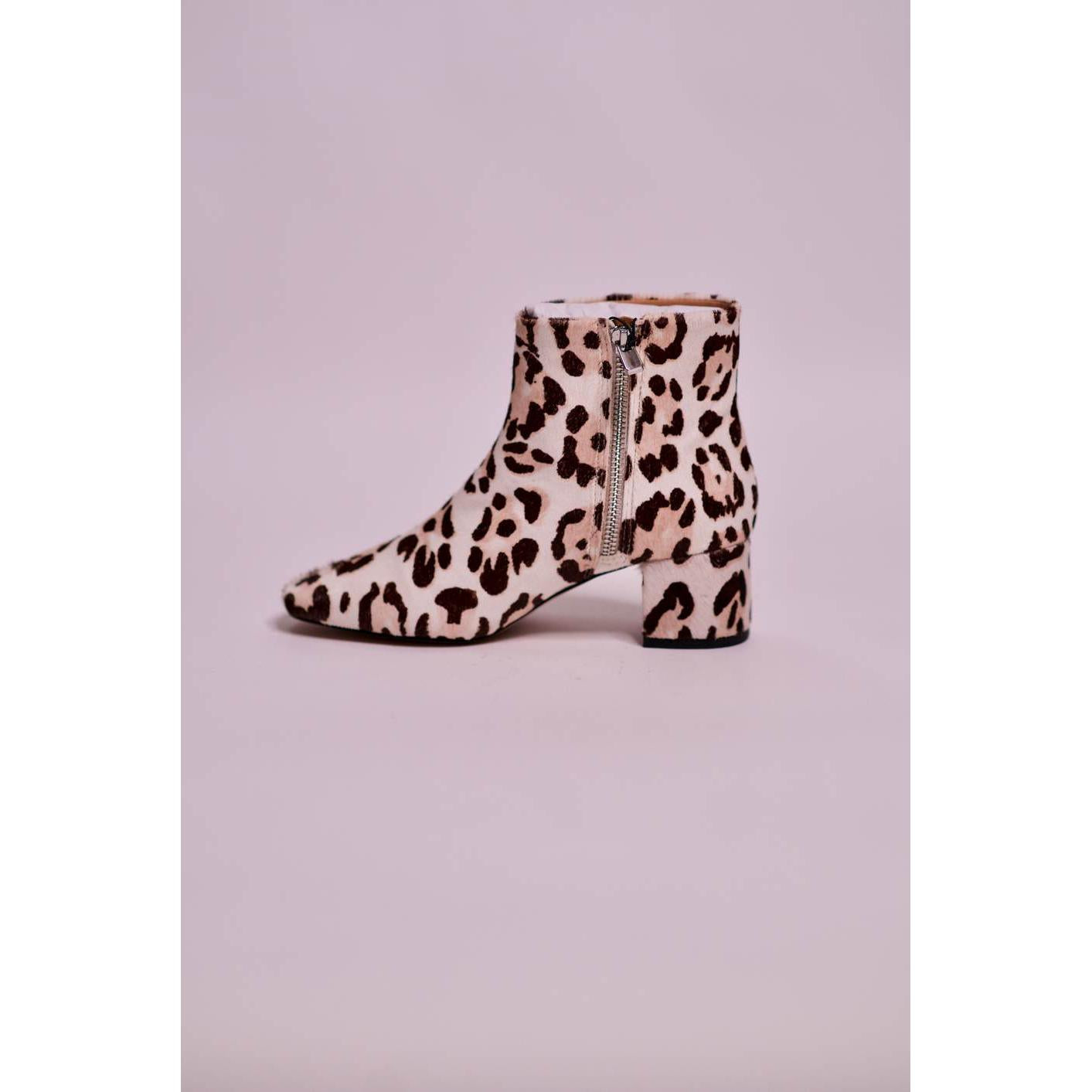 Parfois Animal Print Ankle Boot - The HiO Life
