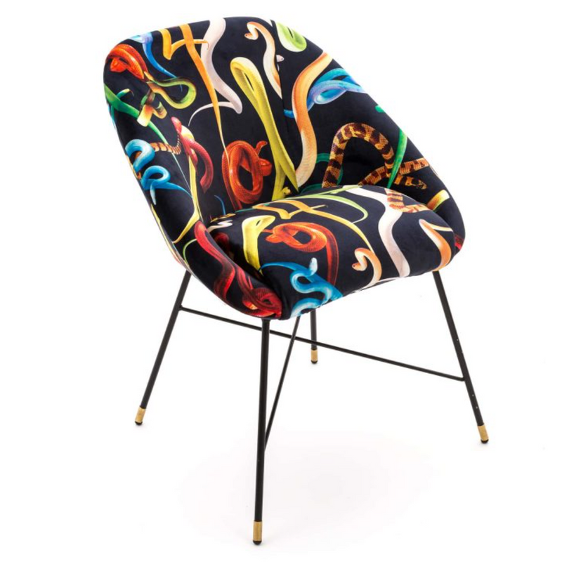 Padded Chair- Snakes