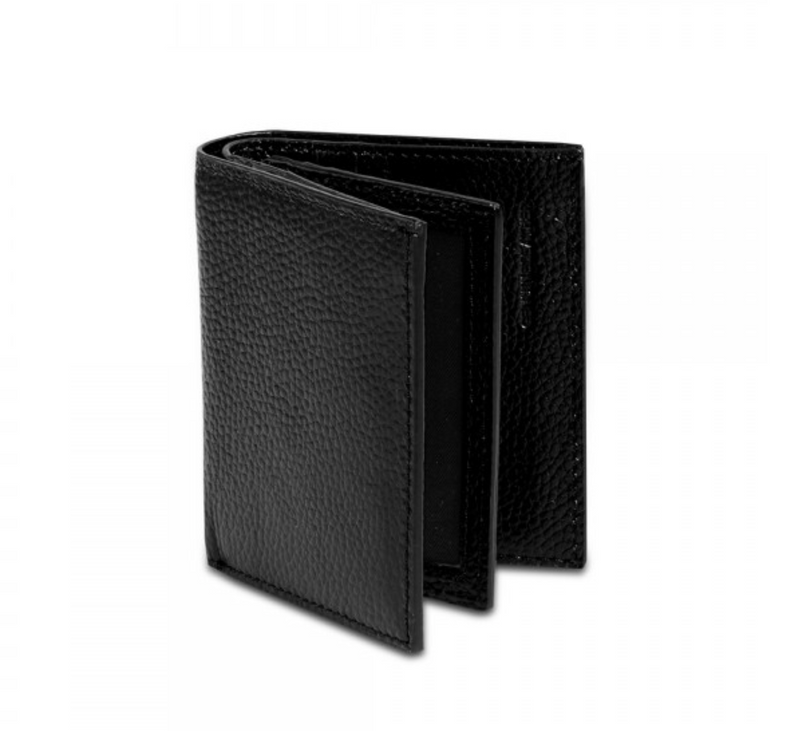 Leather Wallet and credit card holder - Black - The HiO Life