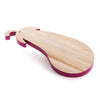 VEGE_TABLE BIRCH WOOD CUTTING BOARDS Cm. 52x25 h.2,8 - AUBERGINET - The HiO Life