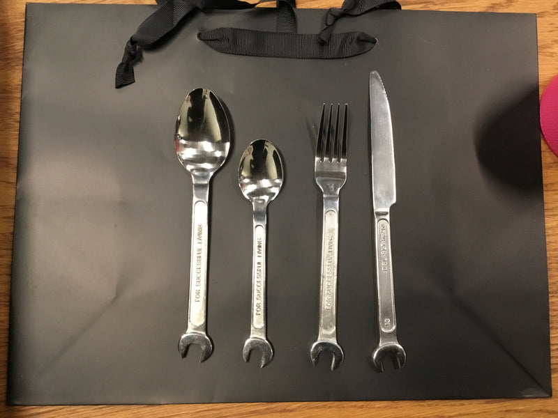 Machine Collection Cutlery Set of 4