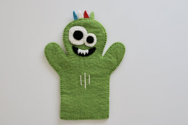 Monster Felt Puppet