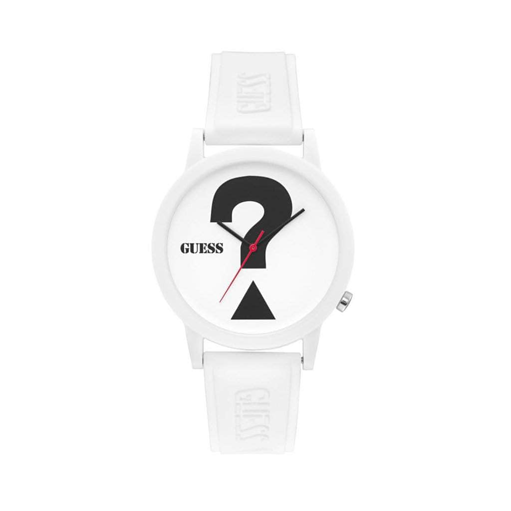 your trendy style Accessories Watches Guess Women Men White Analog Watch - V1041 white / NOSIZE