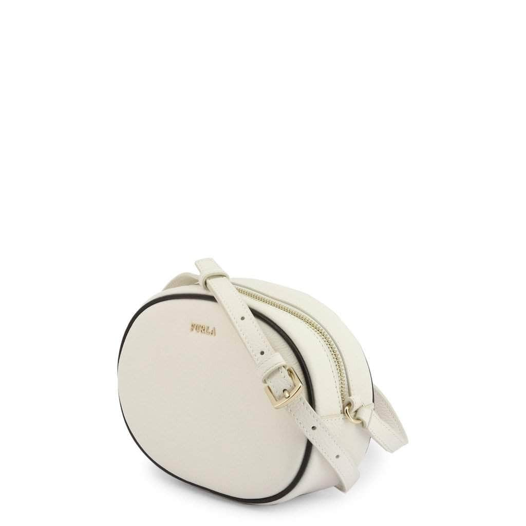your trendy style Bags Crossbody Bags Furla Women Leather White Crossbody Bag - CARA VTO white / NOSIZE
