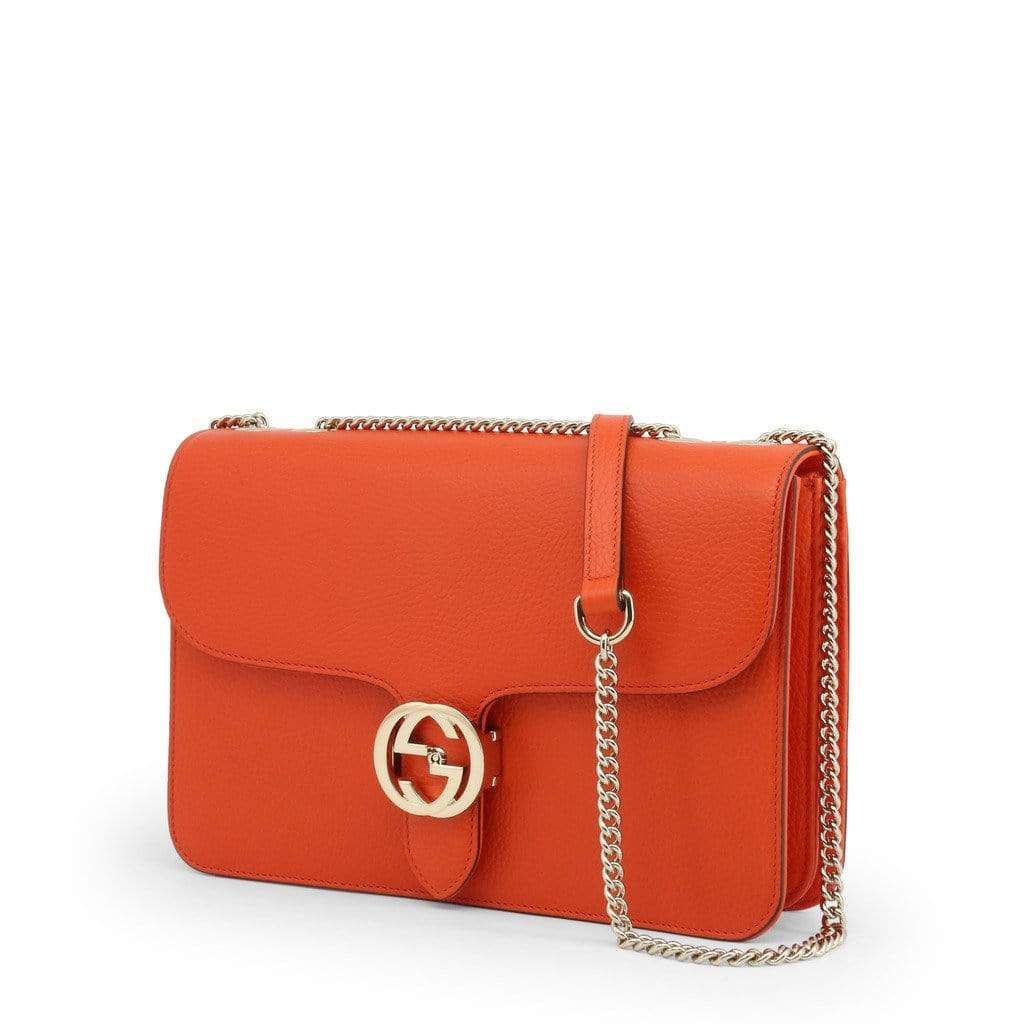 your trendy style Bags Crossbody Bags Gucci Women Leather Orange Crossbody Bag - 510303 CA00G orange / NOSIZE