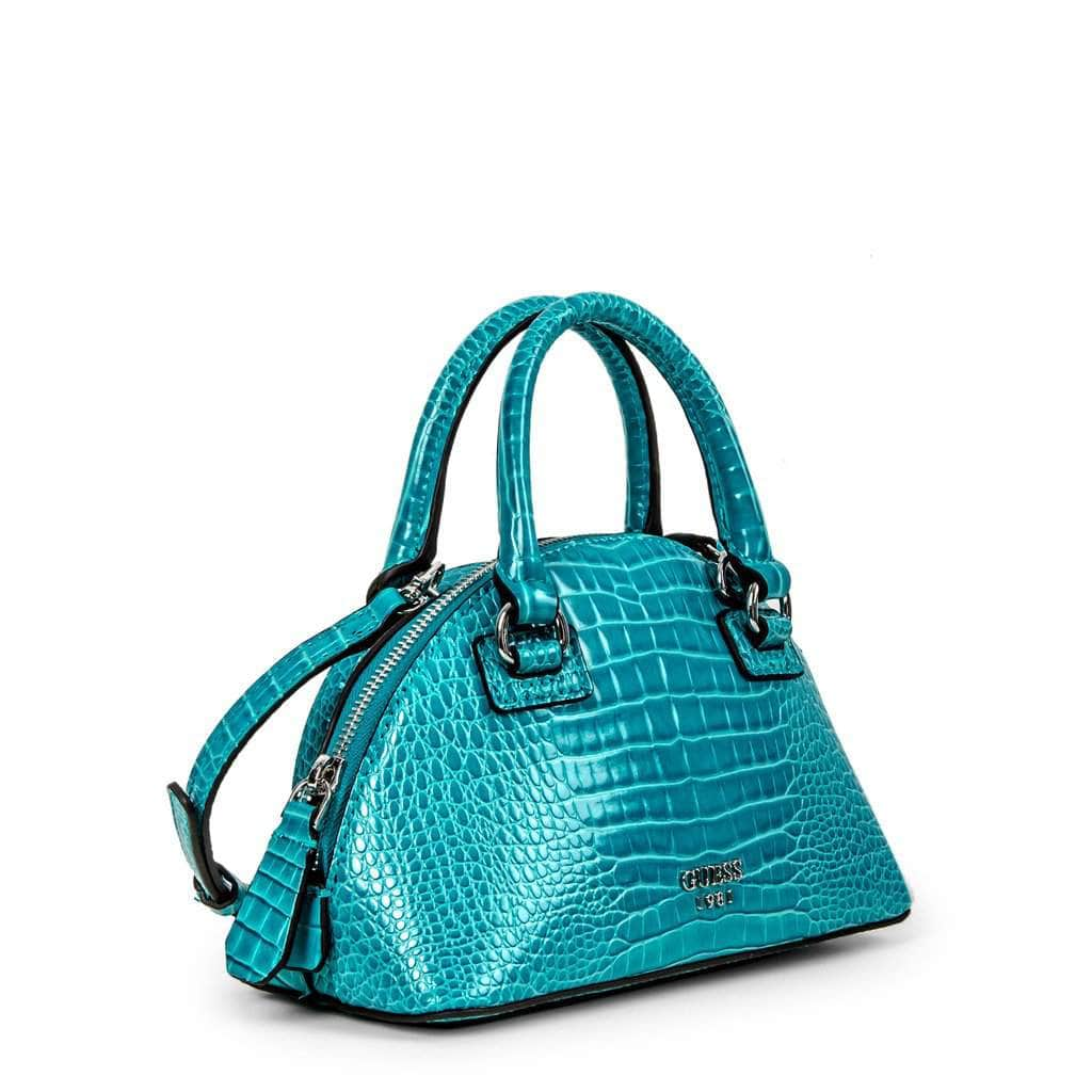 your trendy style Bags Handbags Guess - Shilah_CY776376 blue / NOSIZE