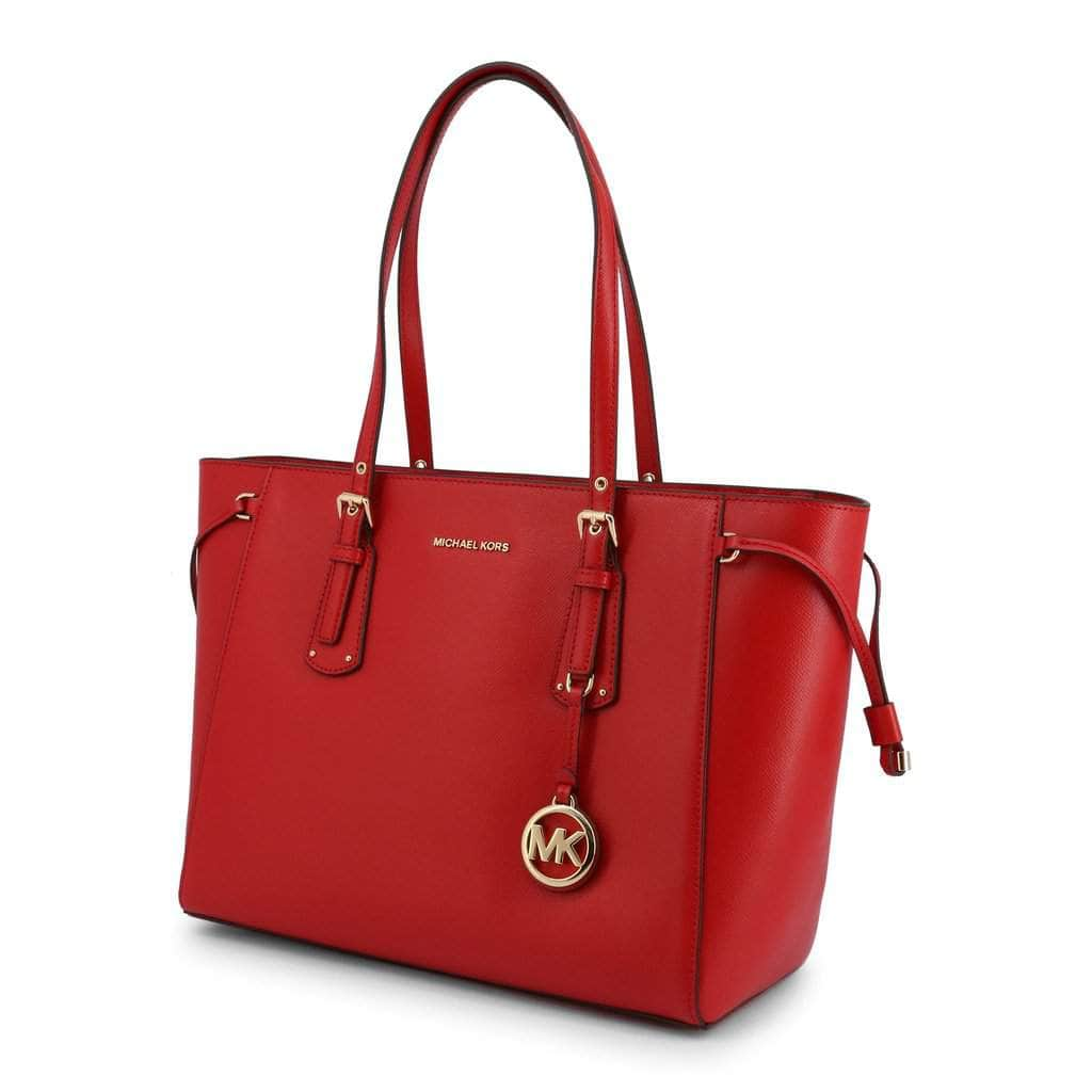 your trendy style Bags Shopping bags Michael Kors Women Red Leather Shopping Bag - 30H7GV6T8L red / NOSIZE