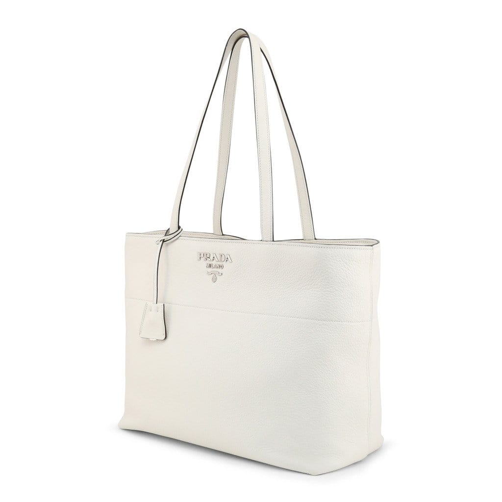 your trendy style Bags Shopping bags Prada Women Leather White Shopping Bag - 1BG203 PHENIX white / NOSIZE