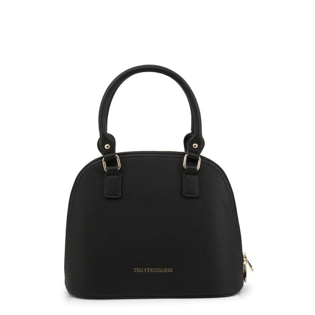 your trendy style Bags Shoulder bags Trussardi Women Leather Black Shoulder Bag - TB05 black / NOSIZE