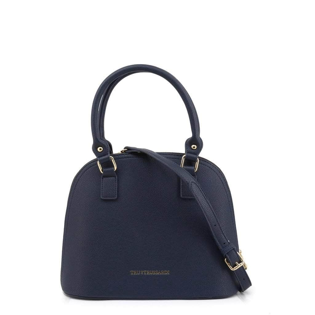 your trendy style Bags Shoulder bags Trussardi Women Leather Blue Shoulder Bag - TB05 blue / NOSIZE