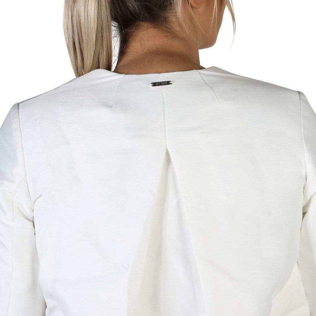 your trendy style Clothing Formal jacket Guess Women White Jacket - W83N16