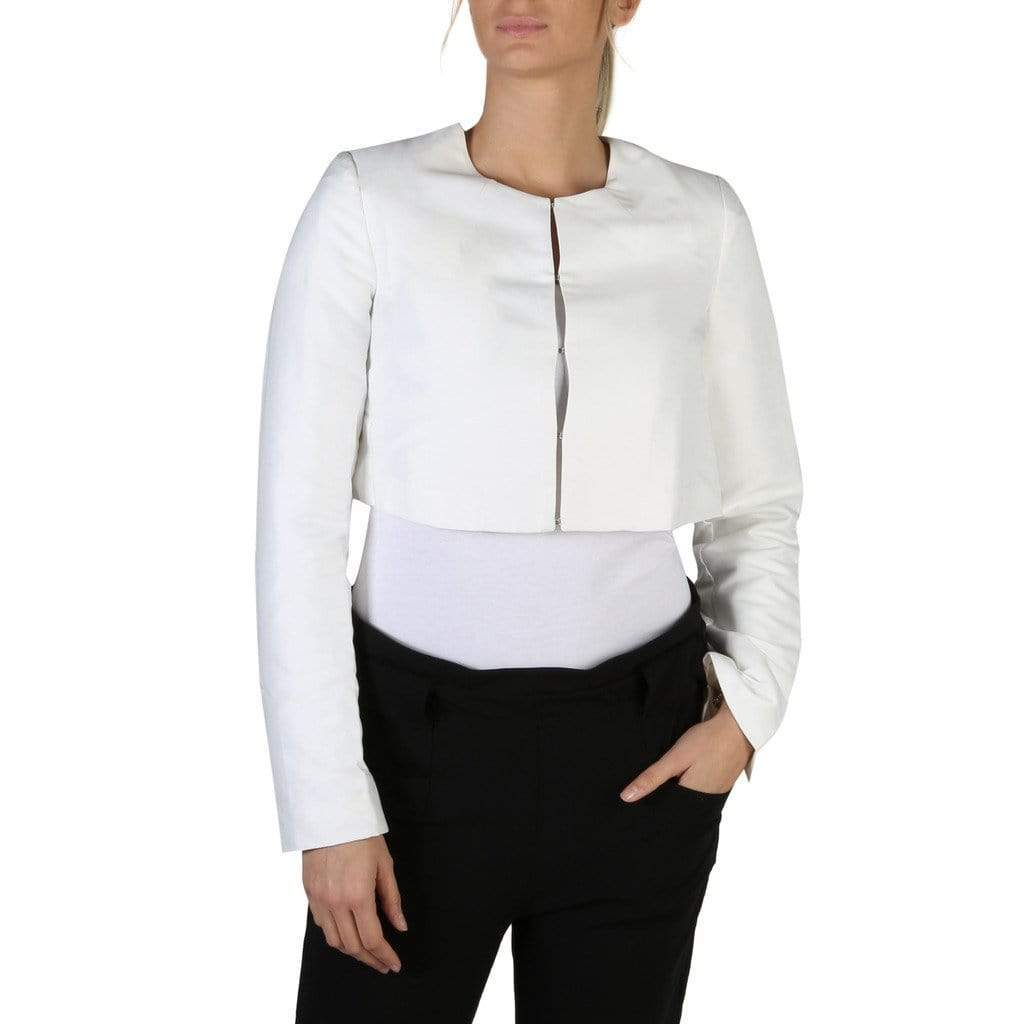 your trendy style Clothing Formal jacket Guess Women White Jacket - W83N16 white / XS