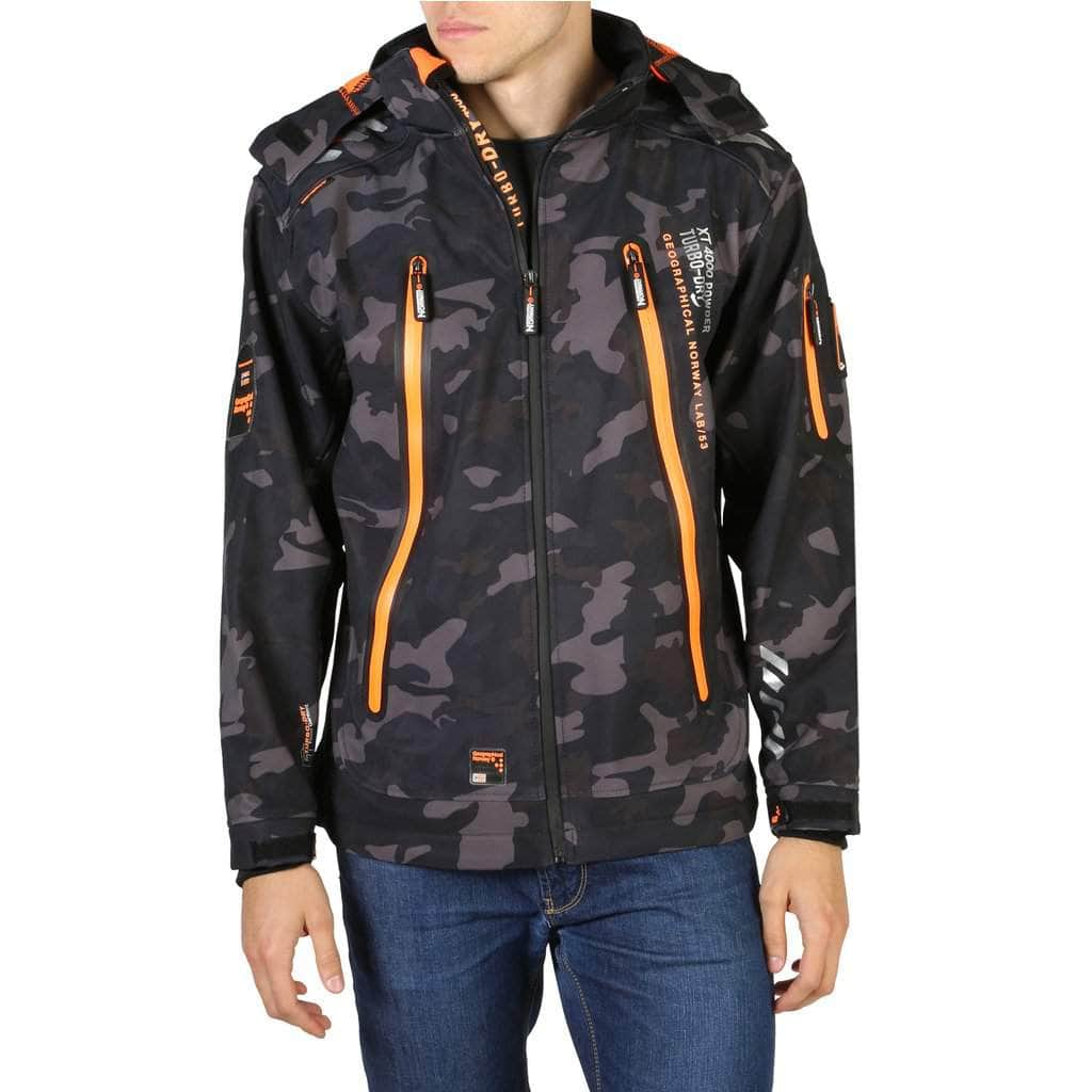your trendy style Clothing Jackets Geographical Norway - Torry_man_camo black / S