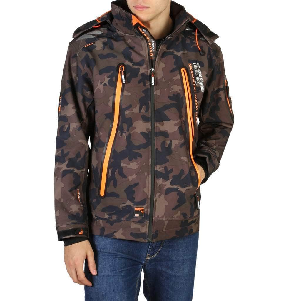 your trendy style Clothing Jackets Geographical Norway - Torry_man_camo brown / S