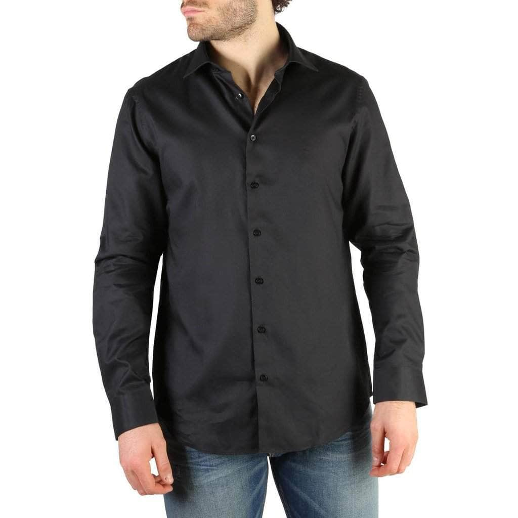 your trendy style Clothing Shirts Calvin Klein Men Black Shirt - K30K300402