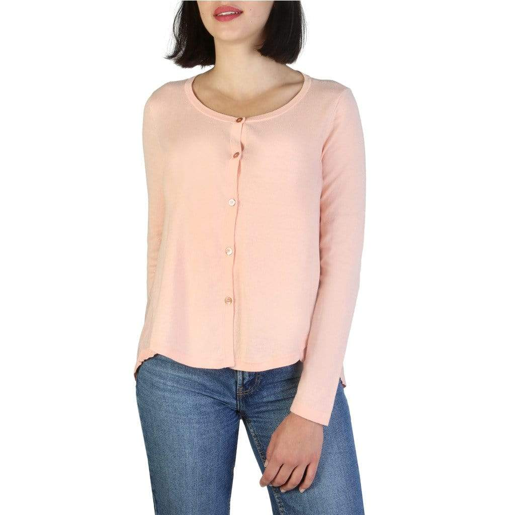 your trendy style Clothing Sweaters Armani Jeans Women Pink Sweater - C5W51 YD pink / 40